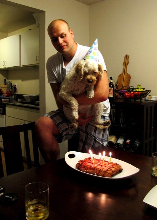 The birthday boy!