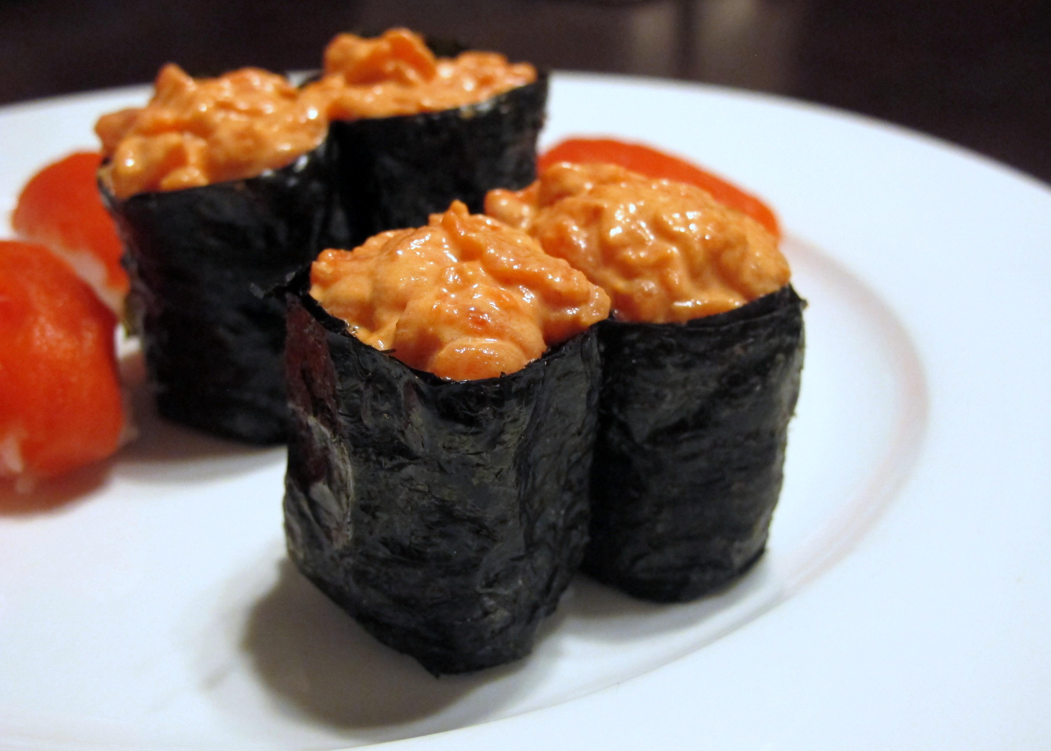 Суши и Гунканы