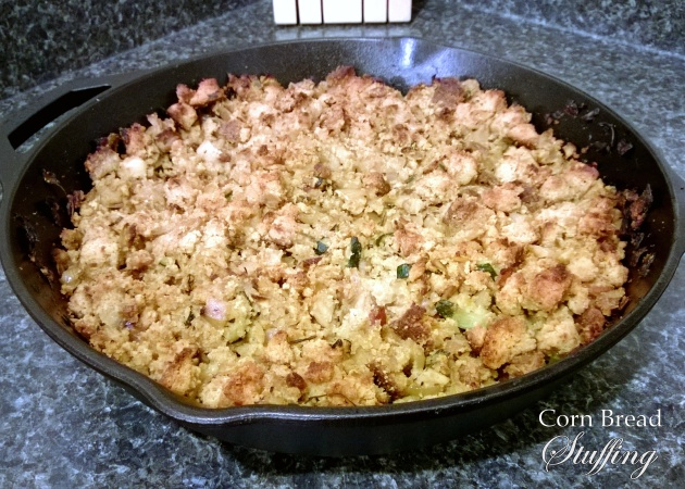 Fructose Friendly Christmas Recipe - Corn Bread Stuffing