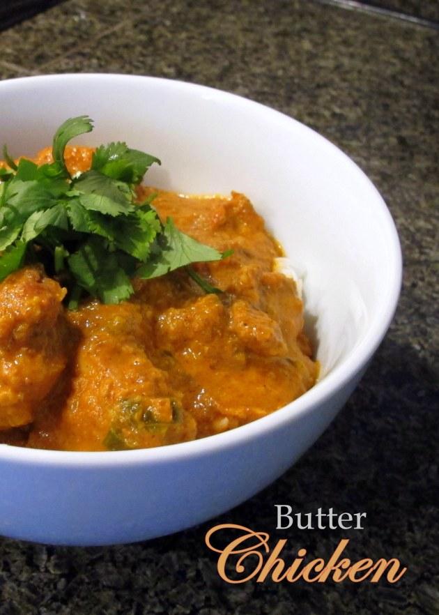 Butter Chicken - Low FODMAP, Fructose Friendly & Gluten Free