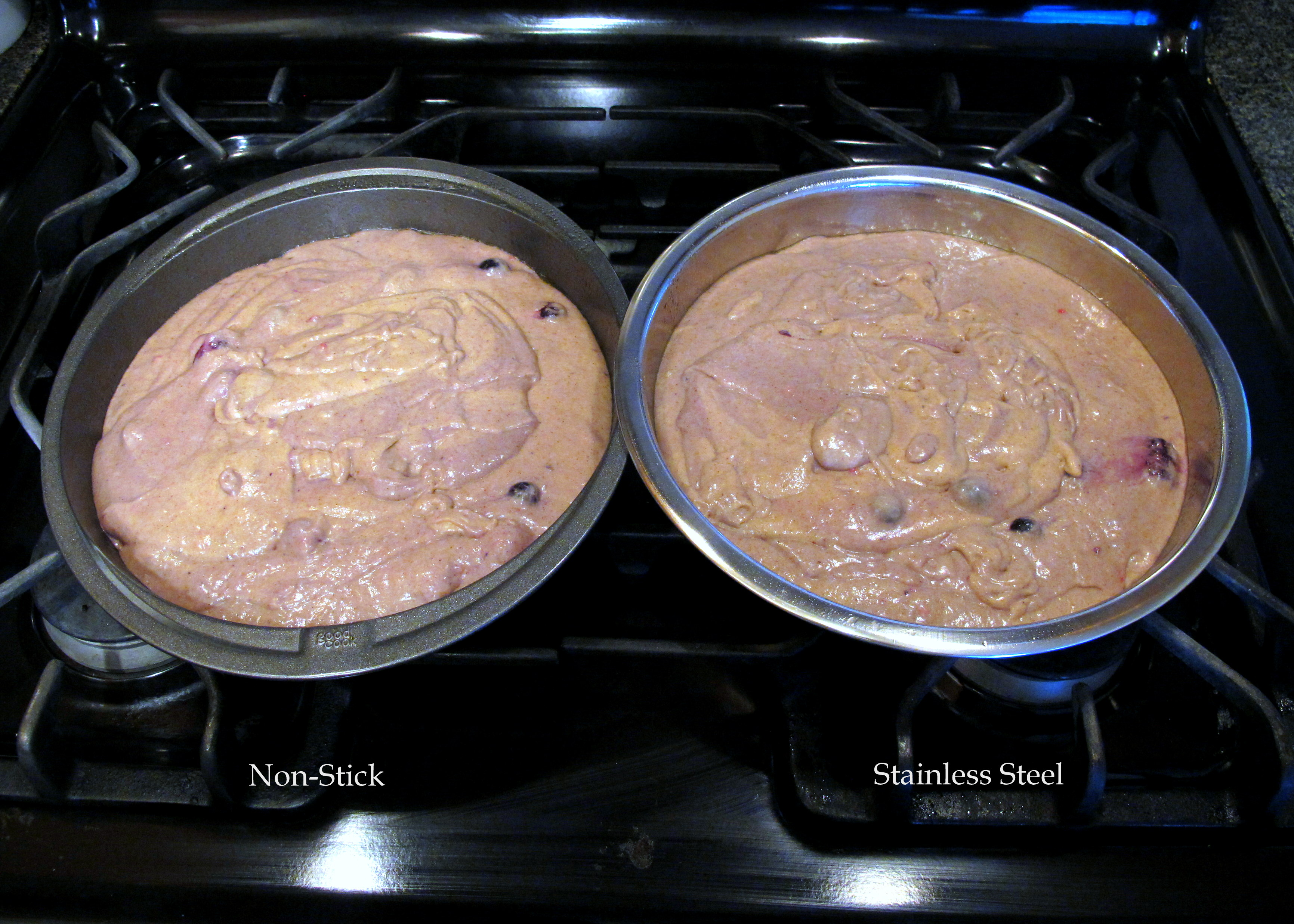 The Great Cake Tin Bake Off Stainless Steel Vs Non Stick Not