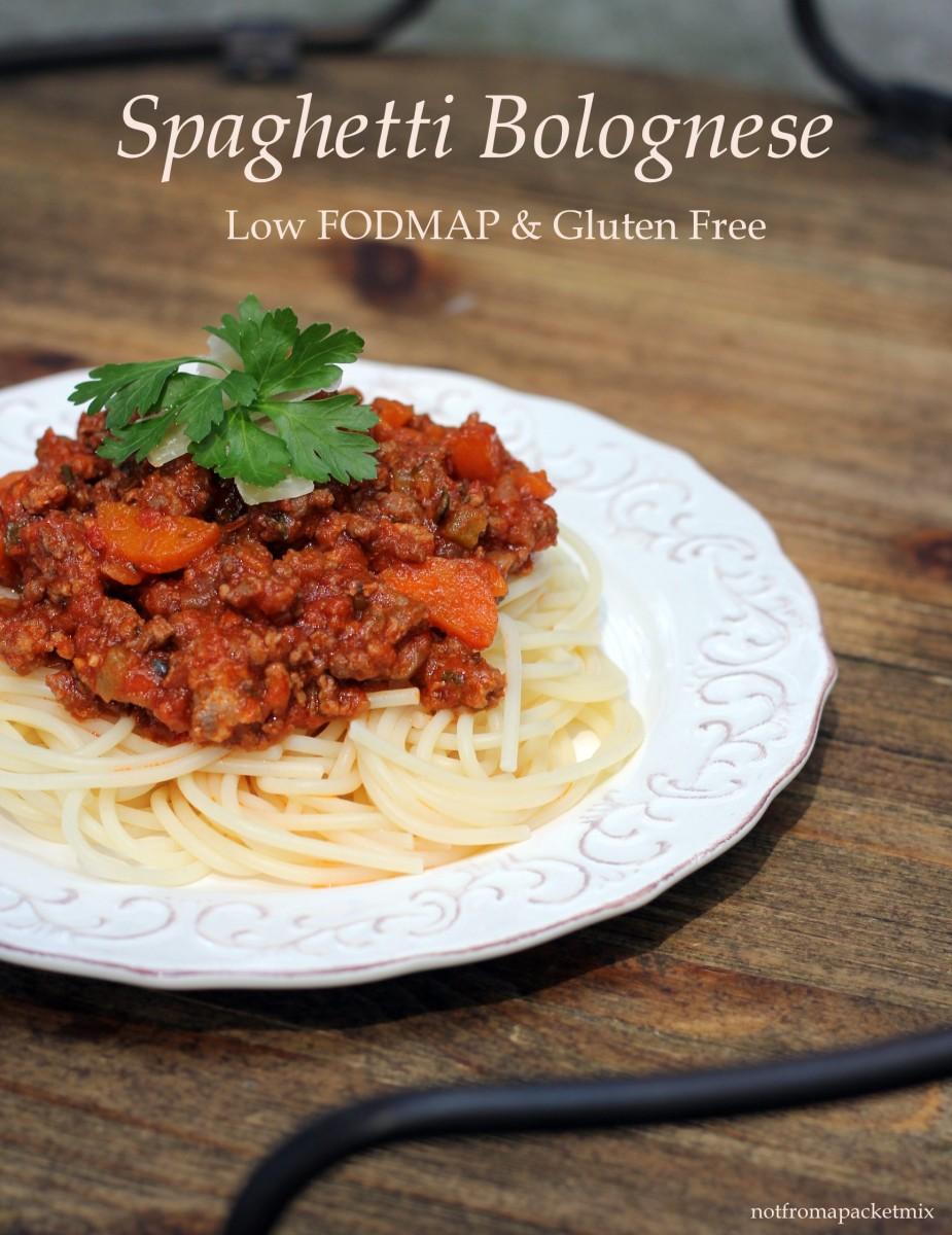 Classic Spaghetti Bolognese - Low FODMAP & Gluten Free