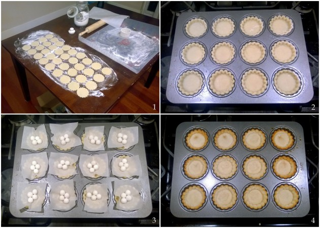 Gluten Free Shortbread Pastry Collage