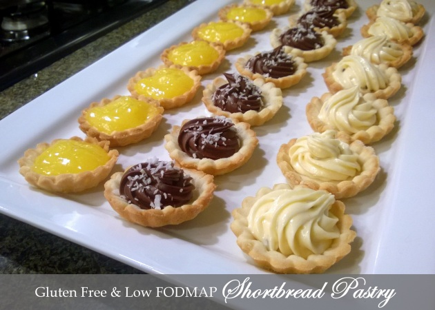 Shortbread Pastry - Gluten Free and FODMAP, Fructose Friendly
