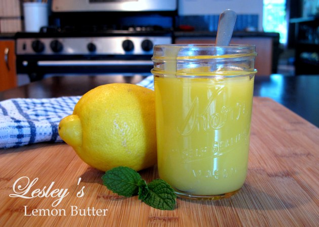 Lesley's Lemon Butter