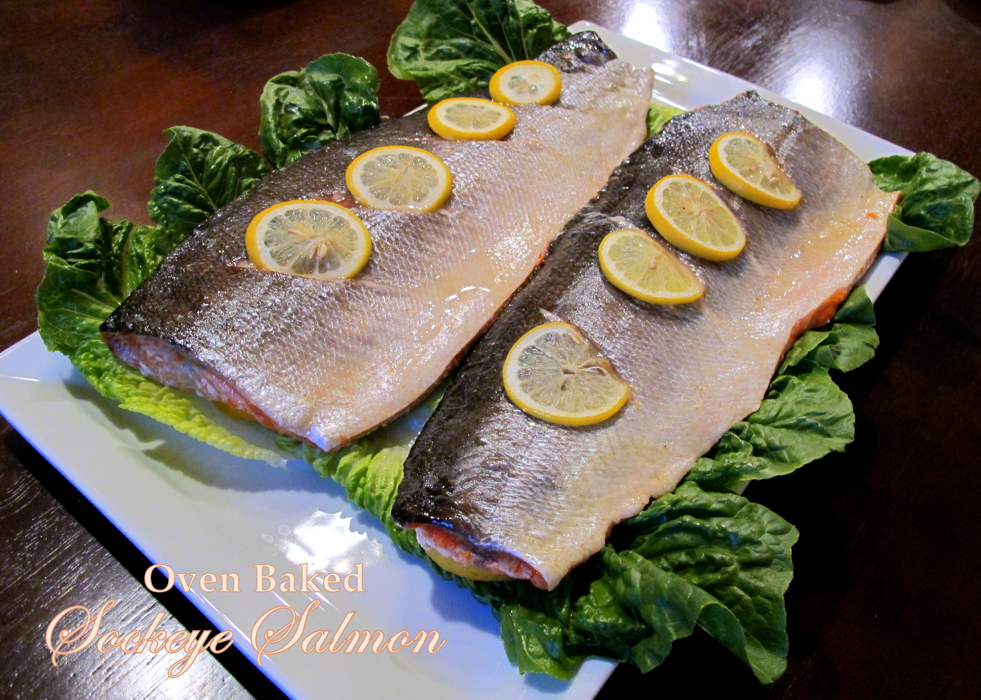 how to fix salmon in the oven