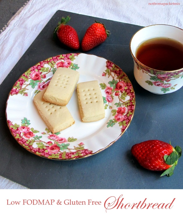 Gluten free & low FODMAP shortbread - yum