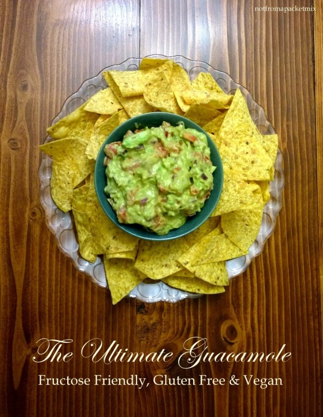 The Ultimate Guacamole - fructose friendly, gluten free and vegan