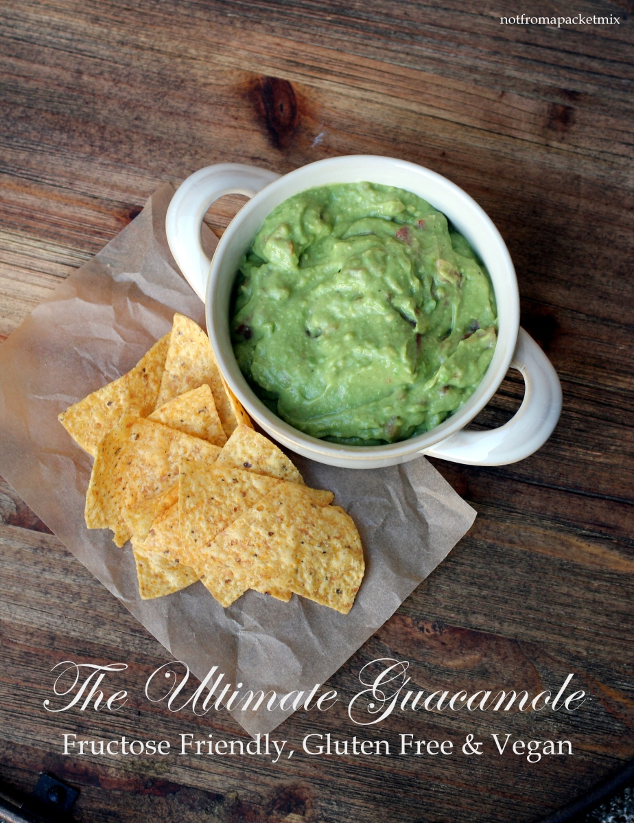 The Ultimate Guacamole - Fructose Friendly, Gluten Free & Vegan